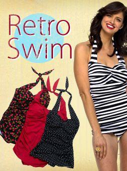 Retro Swim #fittingroomspring: Blog Giveaways, Clothes Clothes, Retro Swimwear, Size Beauty, Assorted Goodies, Swim Fittingroomspring, Arrive Tomorrow