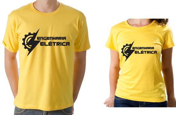 Camiseta E Blusa Feminina Universitaria Engenharia Eletrica