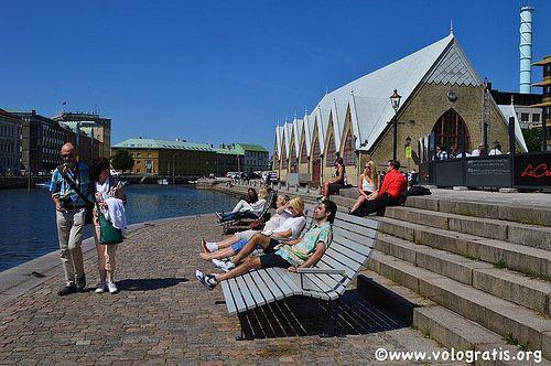 The summer in Göteborg