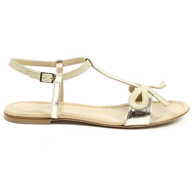 Versace 19.69 Abbigliamento Sportivo Srl Milano Italia - Womens Flat Sandal #versace1969