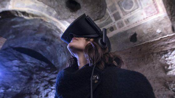 Roma la Domus Aurea come ai tempi di Nerone con le visite in realtà virtuale