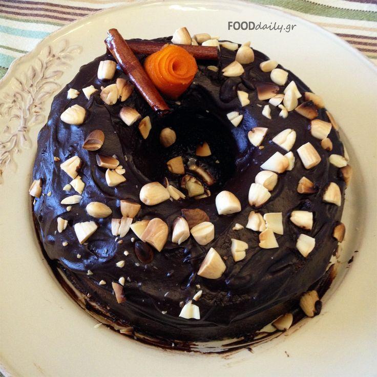 Χαλβάς σιμιγδαλένιος με φρούτα και σοκολάτα