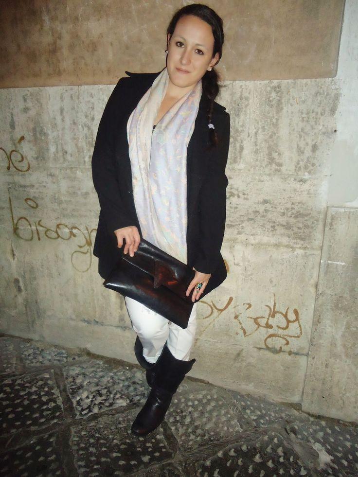 Pant: Zara Pashmina: No brand