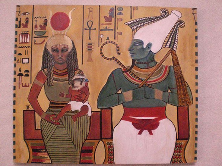 isis and osiris art - Google Search