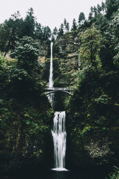 envyavenue:  Multnomah Falls / Ryan Miller
