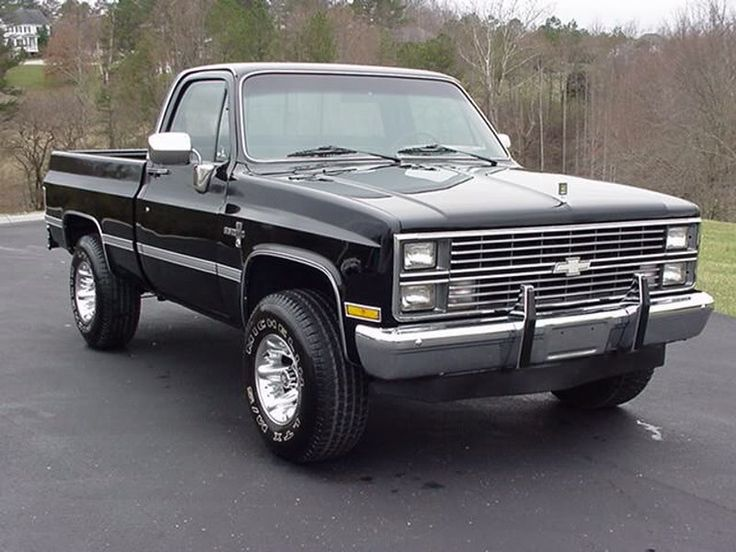classic 80s chevy trucks - Google Search