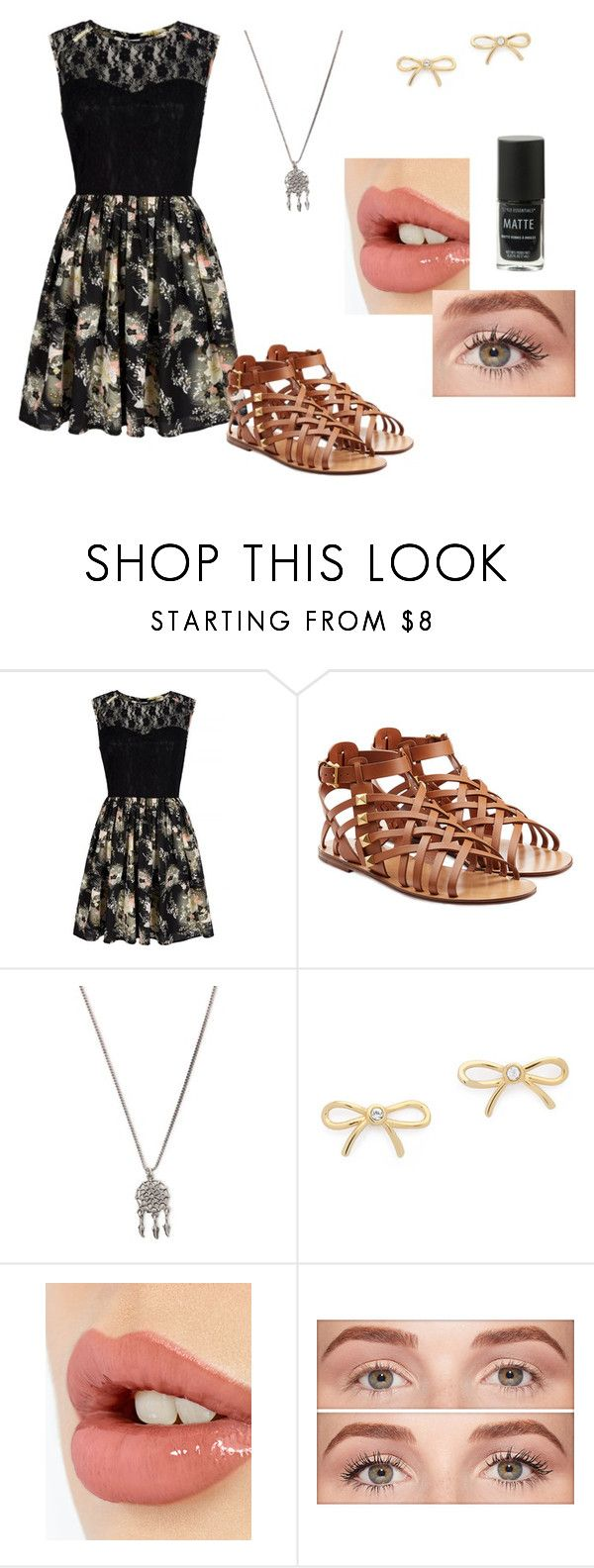 """""""Untitled #46"""" by huntress575 ❤ liked on Polyvore featuring Mela Loves London, Valentino, With Love From CA, Kate Spade, Charlotte Tilbury and Benefit"""