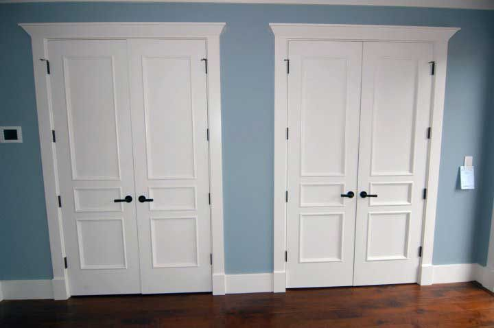 double closet (with images) | double closet doors
