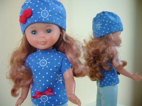Patrón t-shirt y gorro Nancy: 1) http://labibliotecasilvestre.blogspot.com.es/2009/10/patron-t-shirt-y-gorro.html 2) http://2.bp.blogspot.com/_R8uaMo2-1cc/S6vh05ZxShI/AAAAAAAABjU/D8xzBMZPygA/s1600/patr%C3%B3n+t-shirt.jpg