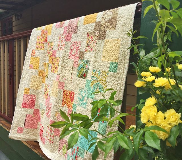 Video tutorial: disappearing 9 patch block | Sewn Up