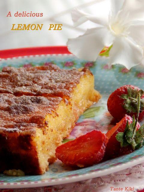 Tante Kiki: Αρωματική λεμονόπιτα