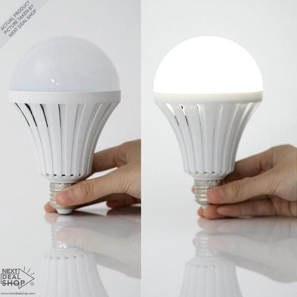 Emergency LED Magic Bulb - Continues to Work After Power Outage!