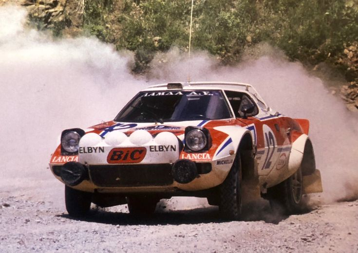 Lancia Stratos Siroco Makrinos 1979