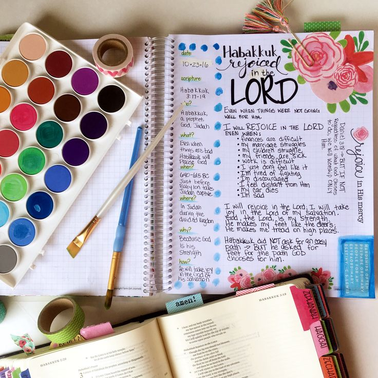 Bible Journaling has changed how I process scripture and I love my Bible Journal from Farm Girl Journals. Go check them out today!