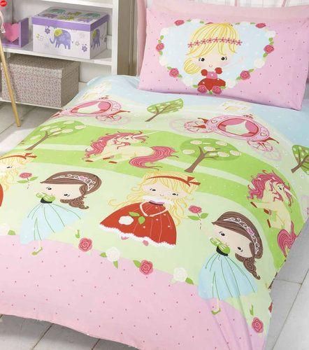 Pretty Princess Toddler Bedding