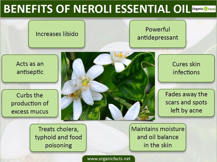 Health benefits of neroli essential oil can be attributed to its properties like anti depressant, aphrodisiac, anti septic, bactericidal, cordial, carminative, cicatrisant, cytophylactic, disinfectant, anti spasmodic, deodorant, digestive, emollient, sedative and tonic. Here is yet another essential oil from a citrus fruit. No wonder, most of its medicinal properties match those of other citrus essential oils.