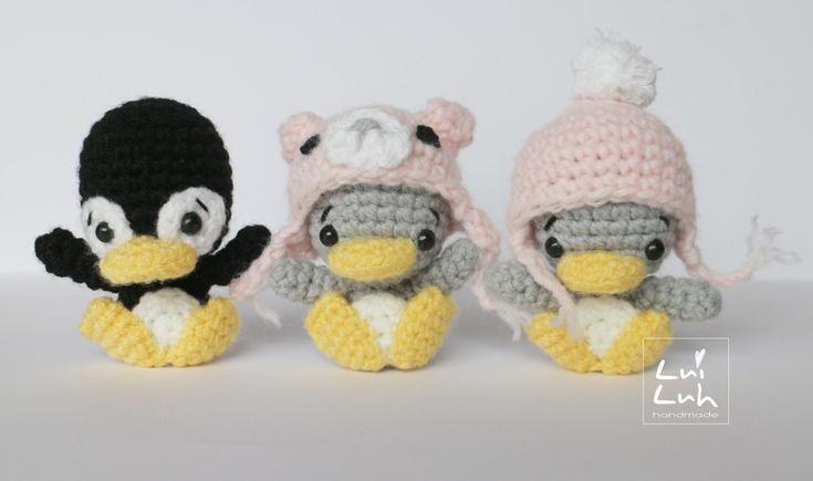 "Free Pattern ""LuiLuh-baby-penguin"" by @LuiLuh.handmade    Kostenlose Anleitung ""LuiLuh-Baby-Pinguin"" von @LuiLuh.handmade"