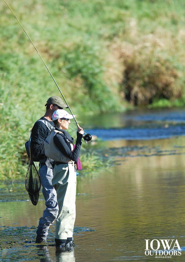 Casting for recovery aims to help women recovering from for Fly fishing iowa