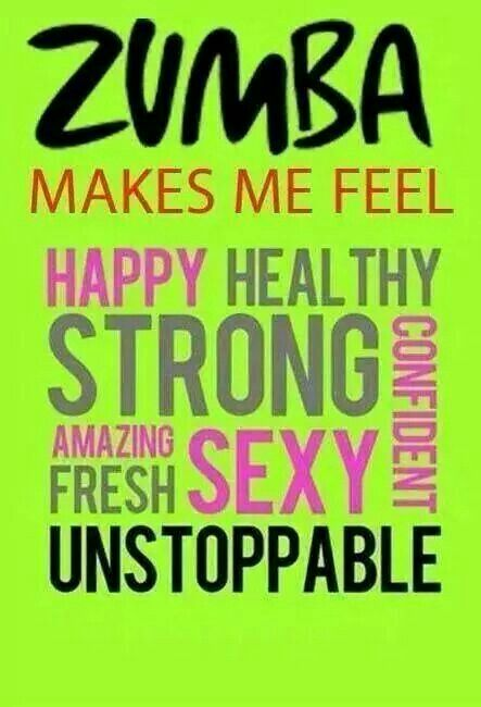 Everything you need to know about zumba Zumba... if only I could find the time