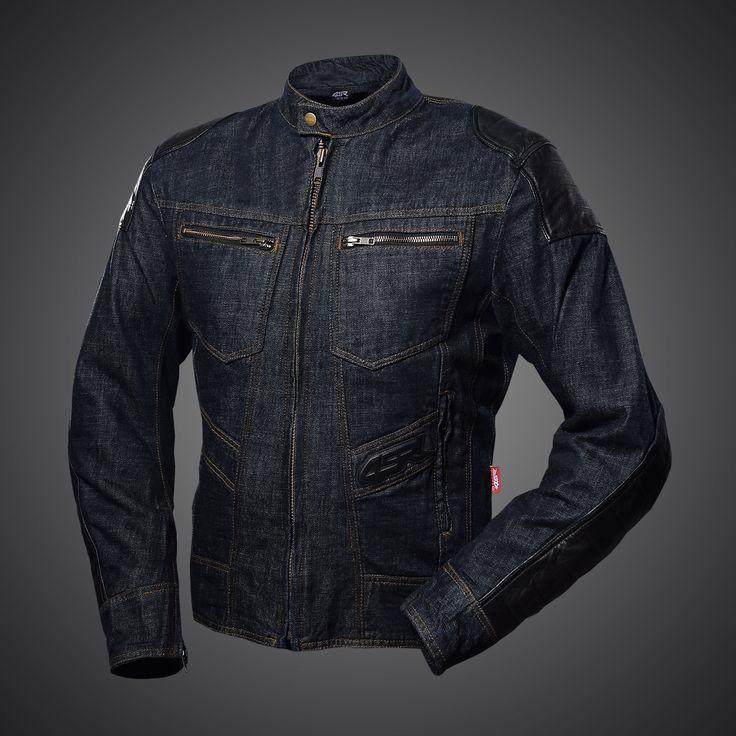 Rowdie Denim Jacket - motorcycle jeans jacket