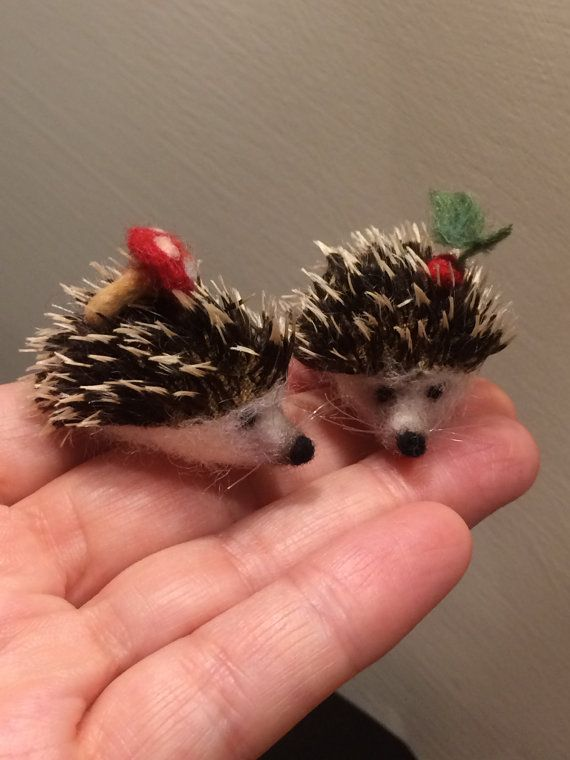 Hey, I found this really awesome Etsy listing at https://www.etsy.com/uk/listing/274658042/needle-felted-hedgehog-2-baby-soft
