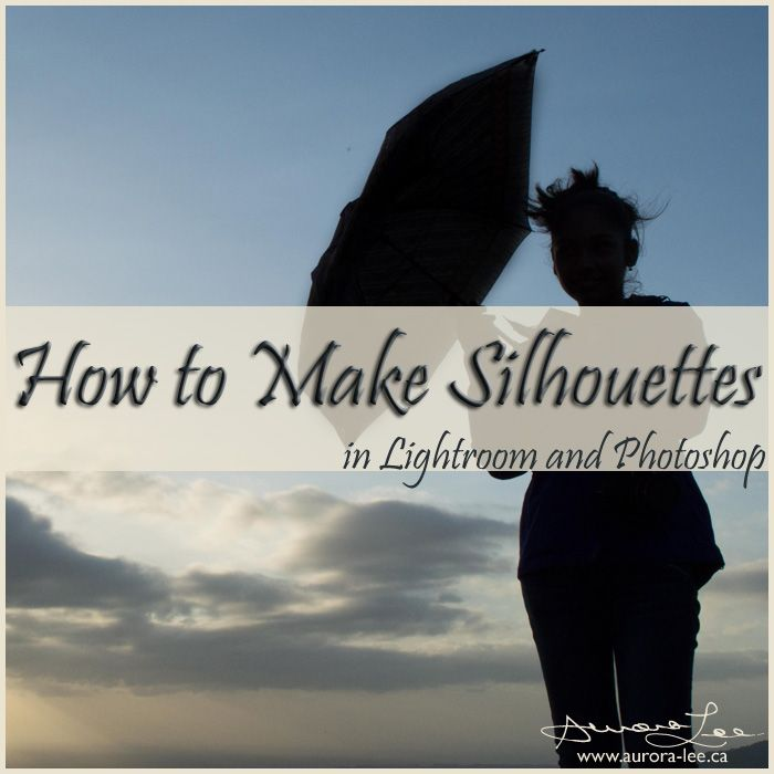Have you ever wondered how to create a silhouette photograph? Here are photo tips and a post-processing tutorial to help you create your own.