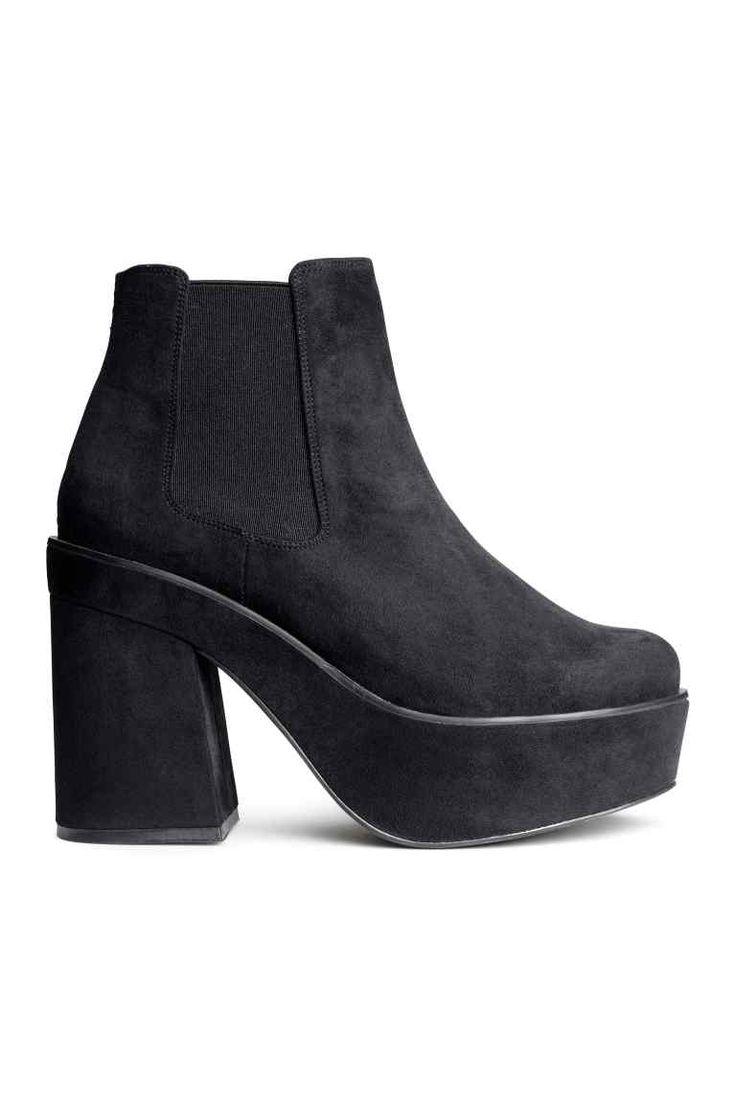 Botas con plataforma | H&M
