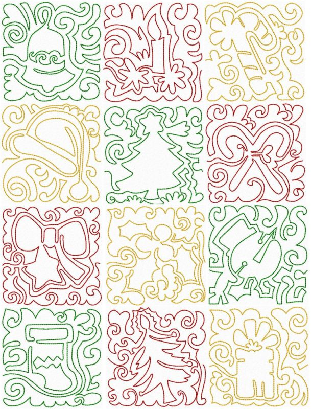 1000+ images about A Machine Quilting Pattern on Pinterest Embroidery patterns, Feathers and ...