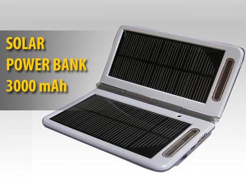 ΗΛΙΑΚΟΣ ΦΟΡΤΙΣΤΗΣ - POWER BANKS 3000 MAH 5,5V - 9V - 12V και USB