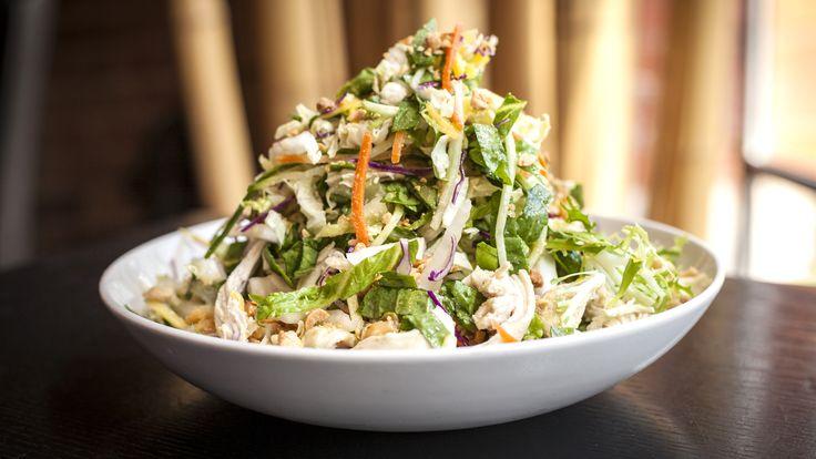 Make Billy Dec's chop chop chicken salad and summer wine cocktail