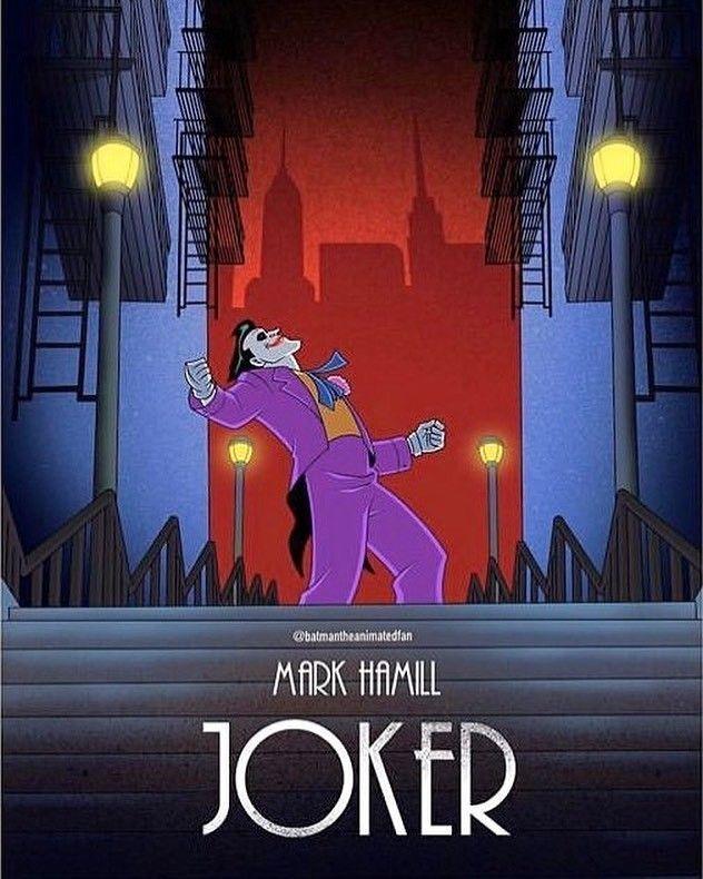Joker Aninated Joker Animated Hamill Joker Joker Poster