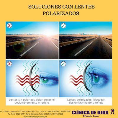 Clínica de Ojos Oftalmic Láser: SOLUCIONES CON LENTES POLARIZADOS