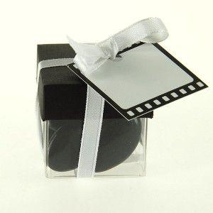 Boites à dragées mariage cube Cinéma