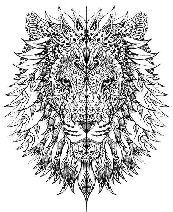 les 25 meilleures id es de la cat gorie tete de lion dessin sur pinterest dessine une t te de. Black Bedroom Furniture Sets. Home Design Ideas