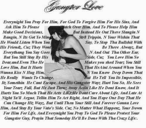 Gangster Love Quotes 9 Best Gangster Love Images On Pinterest  Chicano Art Gangsters