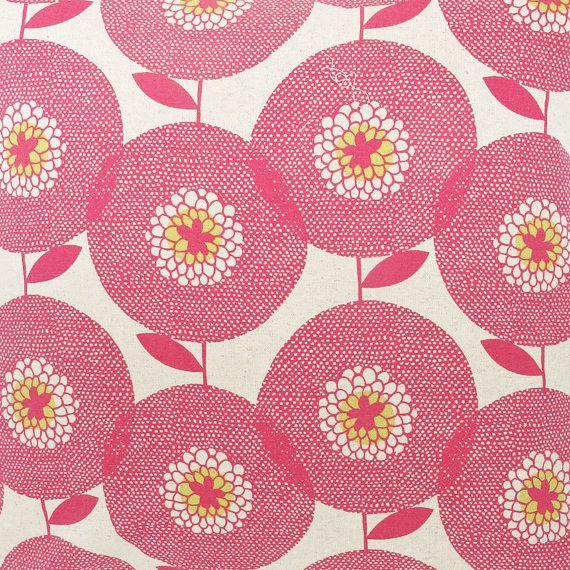 rosy.Skinnylaminx, Prints Pattern, Pink Flower, Skinny Laminx, Flower Prints, Fields Fabrics, Flower Fields, Fabrics Design, Flower Pattern