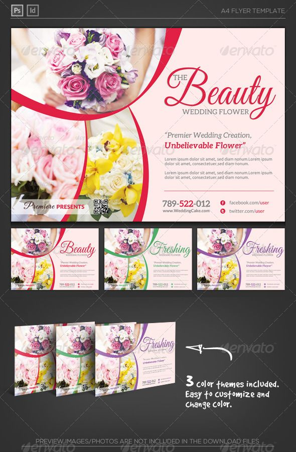 94 best Creative Flyer Template images on Pinterest Creative - wedding flyer