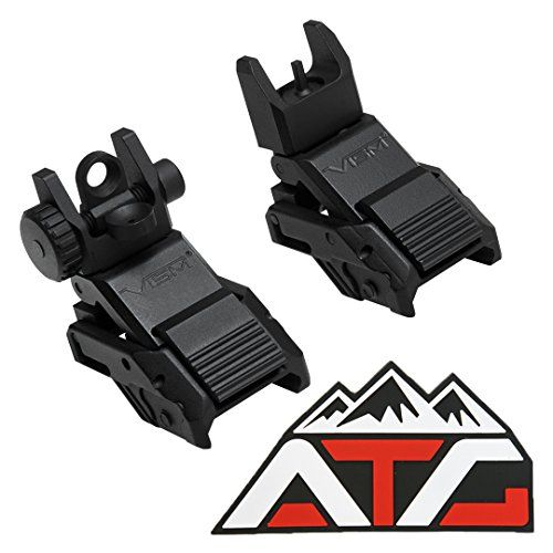 NcSTAR Flip Up Front Sight and Dual Aperture Rear Sights A2 Adjustable Low Profile Spring Loaded Back up Picatinny Rail Mount + ATG PVC Rubber Velcro Patch   https://huntinggearsuperstore.com/product/ncstar-flip-up-front-sight-and-dual-aperture-rear-sights-a2-adjustable-low-profile-spring-loaded-back-up-picatinny-rail-mount-atg-pvc-rubber-velcro-patch/