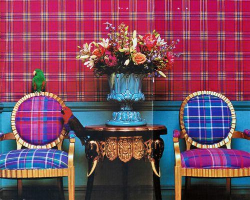 plaidDiy Ideas, Decor, Positive Plaid, Colors, Madrass Chairs, Preppy Plaid, Beautiful Birds, Tartan, Mad Plaid