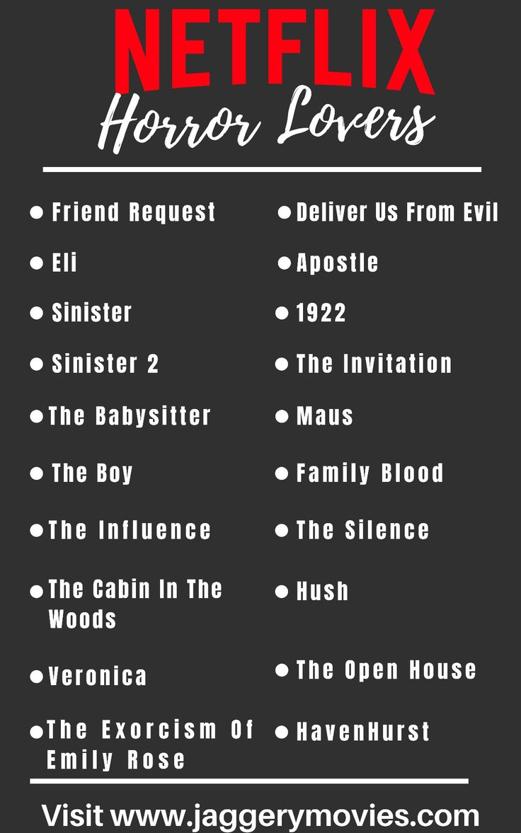 Netflix horror movies list in 2020 horror movies on