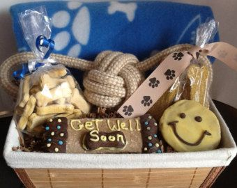 Dog Get Well gift basket!
