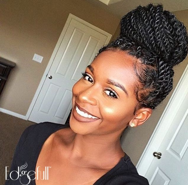 Shop Edgefull.com if you have beautiful natural hair but a thinning hairline.