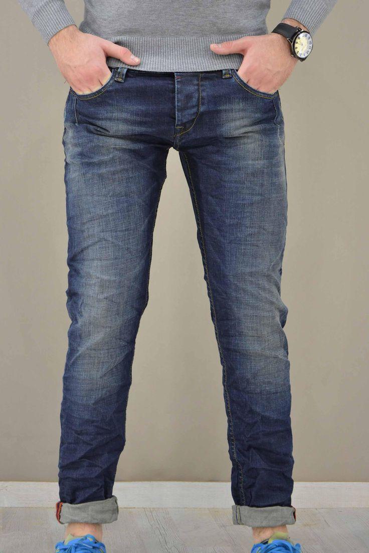 Ανδρικό παντελόνι denim PANT-5025  Παντελόνια τζίν > Jeans & Denim