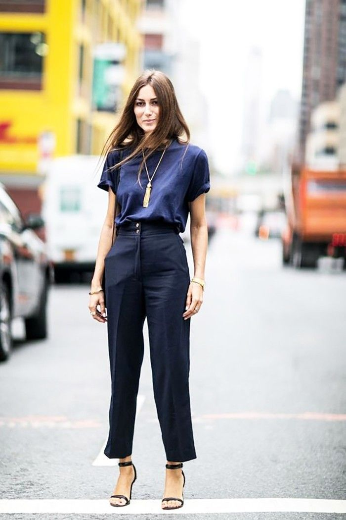The Secret to Nailing Your Office Dress Code Every Single Day via @WhoWhatWear
