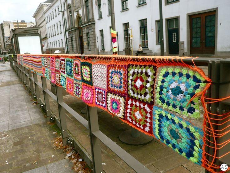wool by Magda Sayeg