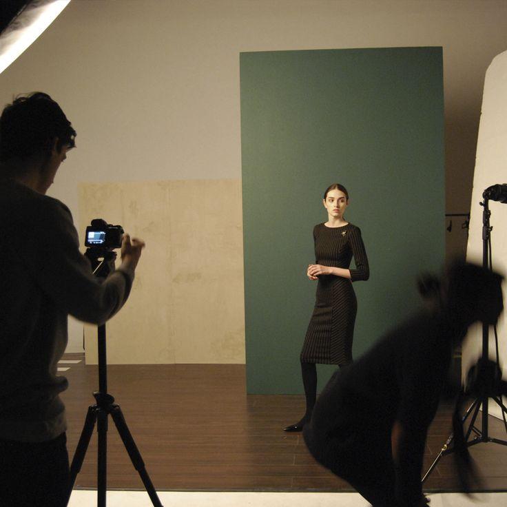 Isabel de Pedro photo shooting. AW16 Lookbook