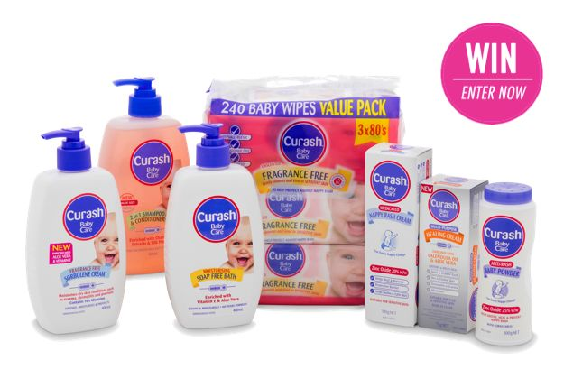 WIN 1 of 10 Curash Baby Essentials Packs