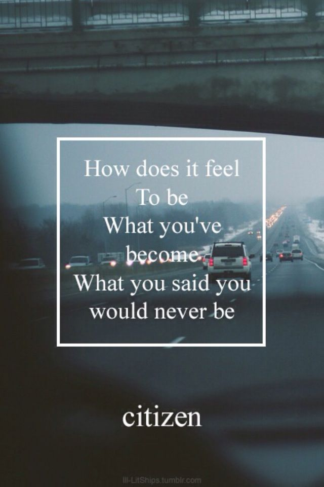 How Does it Feel | Citizen // Youth