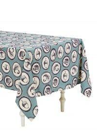 Acorn Cameo Cotton Tablecloth