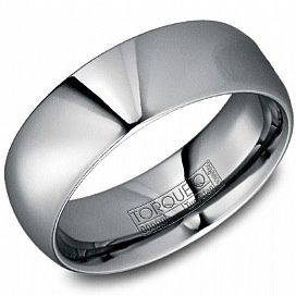 Mens Tungsten Carbide Ring